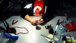 Thimble - Zusammenbau des Roboters