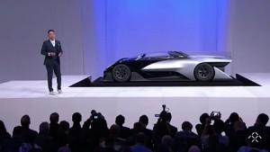 Faraday Future enthüllt den FFZero01 Concept (CES 2016)