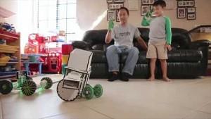 Roboterbaukasten Ziro - Trailer