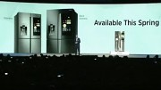 Samsung Smart Family Hub Fridge (CES 2016)