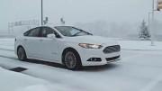 Autonomes Fahren im Schnee (Ford) - Trailer
