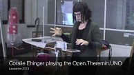 Open.Theremin.Uno angespielt