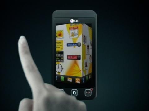 LG KP 500 - Video