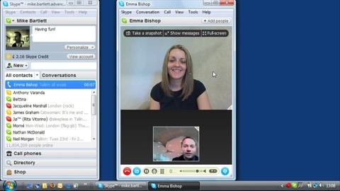 Skype 4.0 Beta - Video