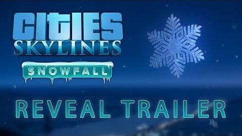 Cities Skylines Snowfall - Trailer (Reveal)