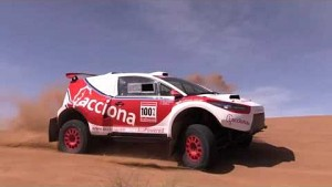 Rallye Dakar elektrisch - Acciona