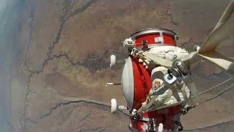 Testflug mit verkleinerter Gondel - World View