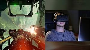 Eve Valkyrie Alpha mit Oculus Rift Dev Kit 2 angespielt