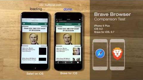 Brave Browser für iOS - Herstellervideo