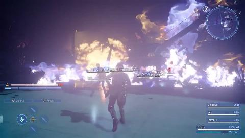 Final Fantasy 15 - Gameplay (Niflheim Base Battle)