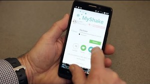 Android-App Myshake - UC Berkeley
