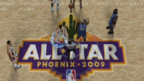 NBA 2K9 - Impressionen