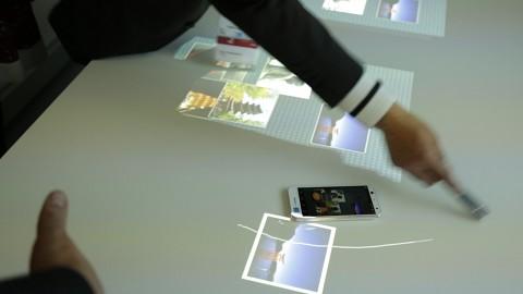 Fujitsu Creative Space angesehen (MWC 2016)