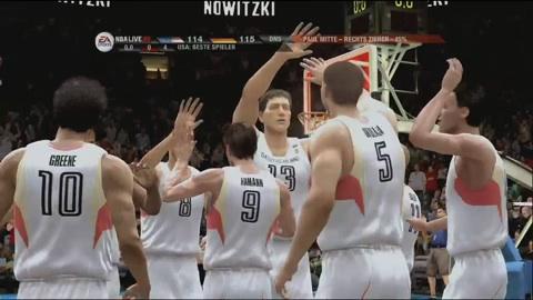 NBA Live 09 - Impressionen