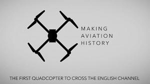 Drohne fliegt über den Ärmelkanal - Ocuair