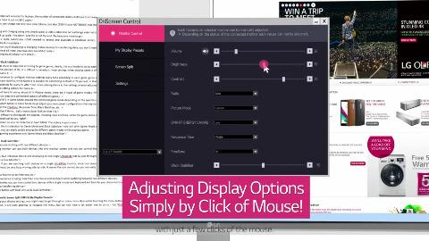 LG zeigt On-Screen-Control mit Maus-Unterstützung