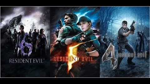Resident Evil 4, 5, 6 - Trailer (Ankündigung)