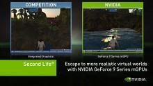 Nvidia demonstriert Chipsatz GeForce 9400 mit Second Life