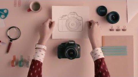 Canon 1300D (Herstellervideo)