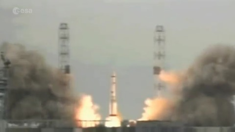 Exomars - Start der Proton-M-Rakete