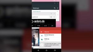 Fenstermodus von Android N ausprobiert