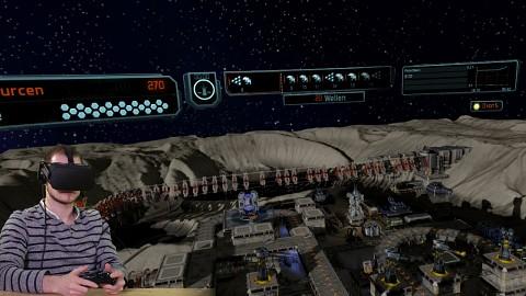 Eine Runde Defense Grid 2 VR mit dem Oculus Rift CV1