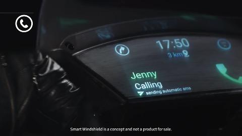 Samsung Smart Windshield (Herstellervideo)
