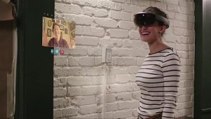 Hololens und Skype - Trailer (Build 2016)