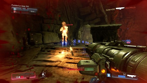 Doom Multiplayer-Beta (deutsch) - Gameplay