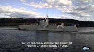 Testfahrt des unbemannten US-Schiffs Actuv - Darpa