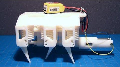 3D-gedruckter Roboter mit hydraulischem Antrieb - MIT