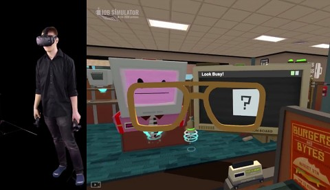 Job Simulator mit HTC Vive - Gameplay