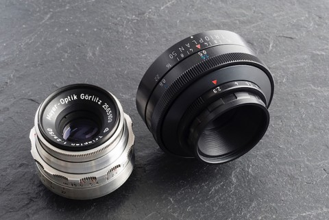 Meyer-Optik Trioplan f2.9 50mm (Kickstarter-Video)
