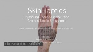 Skinhaptics - University of Sussex