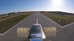 Testflug der Drohne Lightningstrike - Aurora