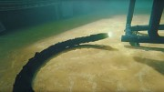 Roboterschlange schwimmt mit Zusatzantrieb- Kongsberg