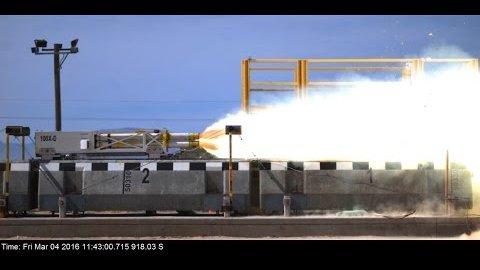 Geschwindigkeitsrekord mit Magnetschwebeschlitten