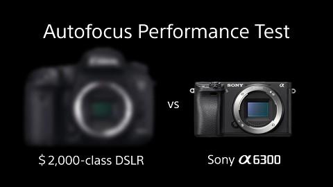 Sony Alpha 6300 - AF Performance Test (Herstellervideo)