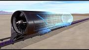Animation des Hyperloop-Tests - Hyperloop One