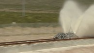 Hyperloop One - Propulsion Open Air Test