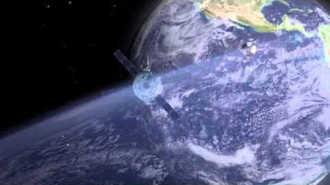 Orion und ESM fliegen zum Mond - Nasa