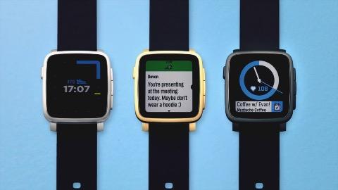 Pebble 2 und Pebble Time 2 auf Kickstarter (Herstellervideo)