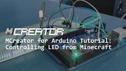MCreator (Arduino) - LEDs in Minecraft kontrollieren