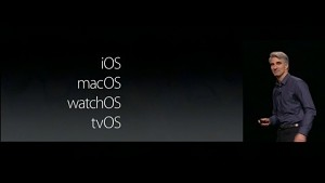Apple MacOS (WWDC 2016)