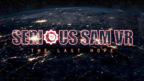 Serious Sam VR - Trailer (Teaser)