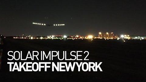Si2 startet in New York - Solar Impulse