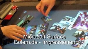 Microsoft Surface - Impressionen Xtopia 08