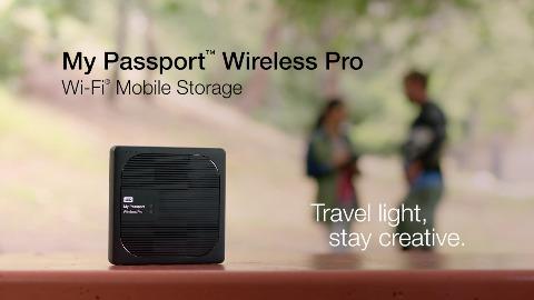 Western Digital zeigt die My Passport Wireless Pro