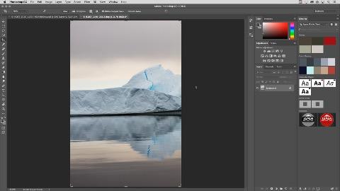 Content-Aware Crop in Photoshop CC (Herstellervideo)