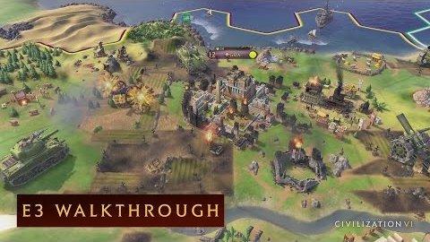 Civilization 6 - Gameplay Walkthrough von der E3 2016